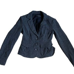 Nanette Lepore - blazer with tie up back size 4